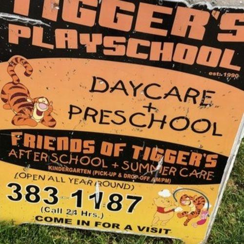 Tigger's Playschool & Preschool ECE Supervisor