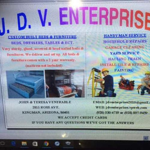 Handyman Provider Jonathan Venerable's Profile Picture