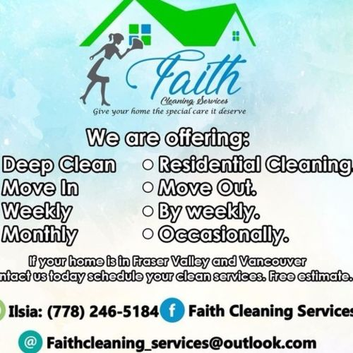 Housekeeper Provider Faith Cleaning S's Profile Picture