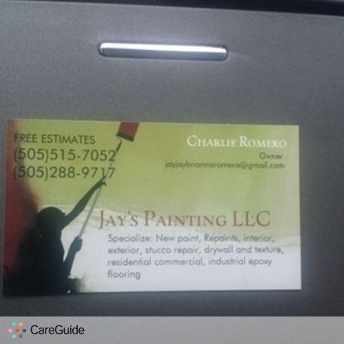 Painter Provider Charlie Romero's Profile Picture
