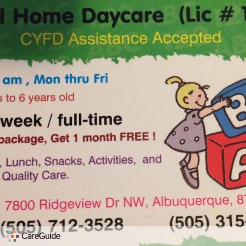 Child Care Provider Central Home Daycare and Nanny a's Profile Picture