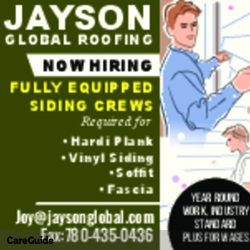 Roofer Job Joy Jayson Global Roofing's Profile Picture