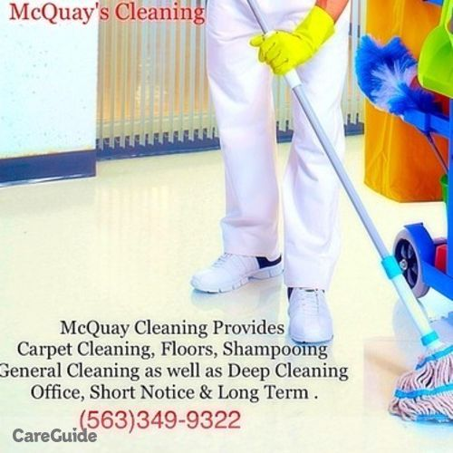 Housekeeper Provider R. McQuay's Profile Picture