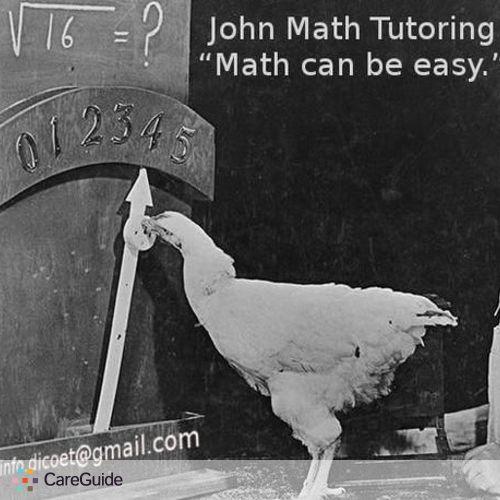 Tutor Provider John M's Profile Picture