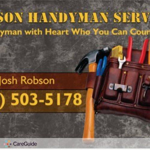 Handyman Provider Josh R's Profile Picture