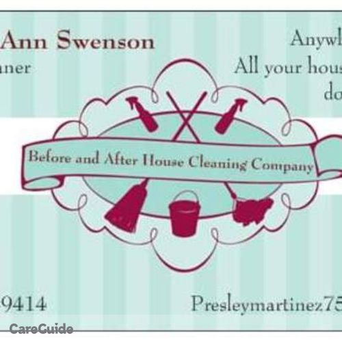 Housekeeper Provider Presley Swenson's Profile Picture