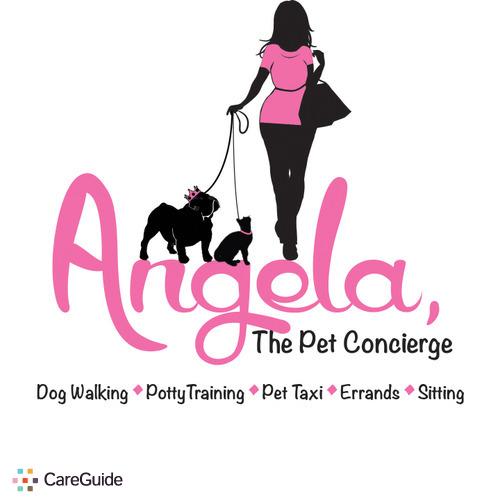 Pet Care Provider Angela, The Pet Concierge's Profile Picture