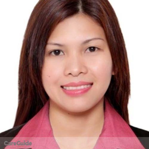 Canadian Nanny Provider Jane Abergos's Profile Picture