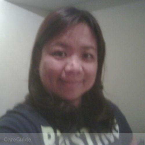Canadian Nanny Provider Arceli Galut's Profile Picture