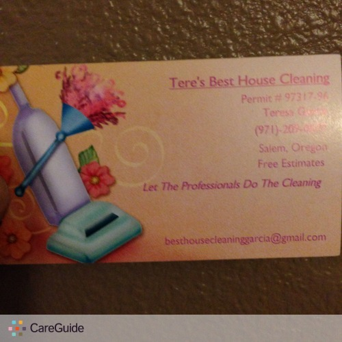 Housekeeper Provider Teresa Garcia's Profile Picture