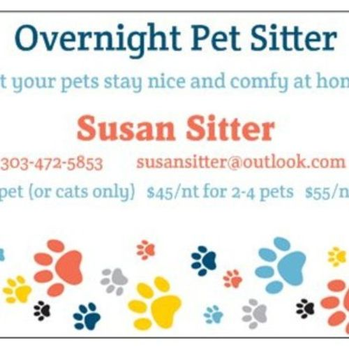 Pet Care Provider Susan S Gallery Image 1