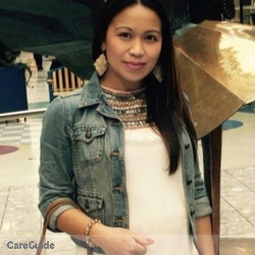 Canadian Nanny Provider Bernadeth D's Profile Picture