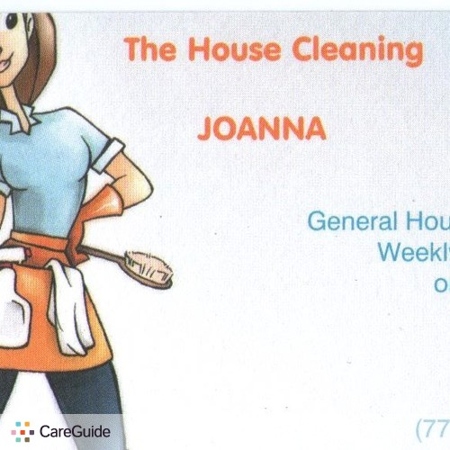 Housekeeper Provider Joanna Data's Profile Picture