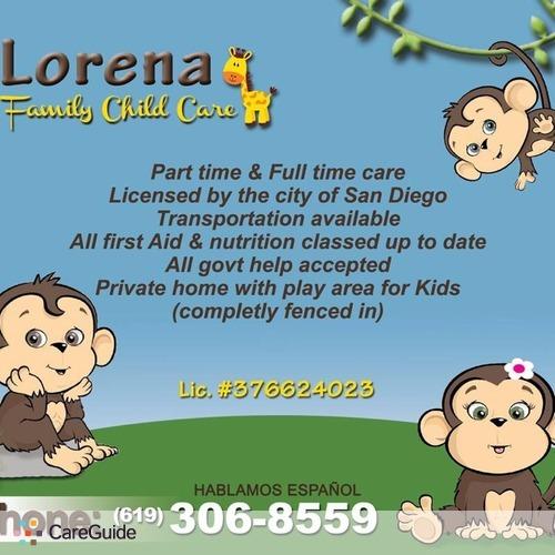 Child Care Provider Lorena Sanchez's Profile Picture