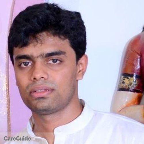 Canadian Nanny Provider Sreejith Varadarajan's Profile Picture