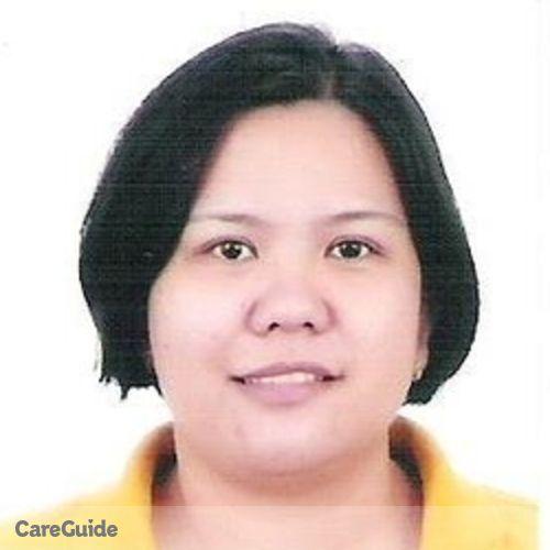 Canadian Nanny Provider Xinia Bernardo's Profile Picture