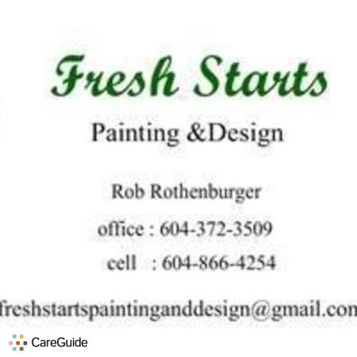 Painter Provider Rob Rothenburger's Profile Picture