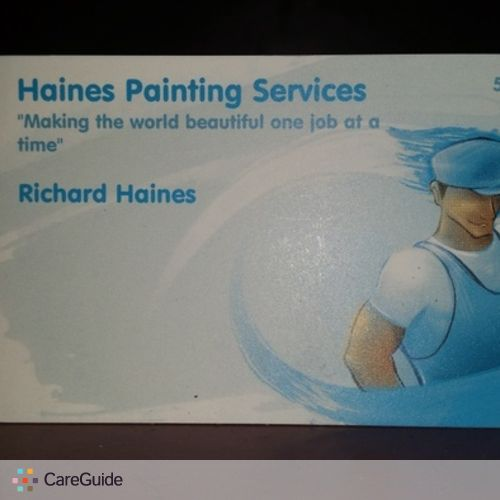 Painter Provider Richard Haines's Profile Picture