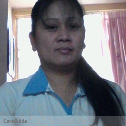 Canadian Nanny Provider Maricar M's Profile Picture
