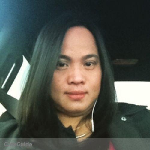 Canadian Nanny Provider Renerose Ammuyutan's Profile Picture