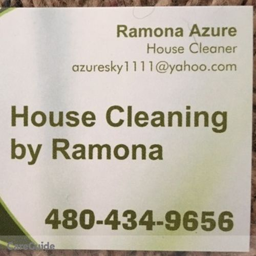 Housekeeper Provider Ramona Azure's Profile Picture