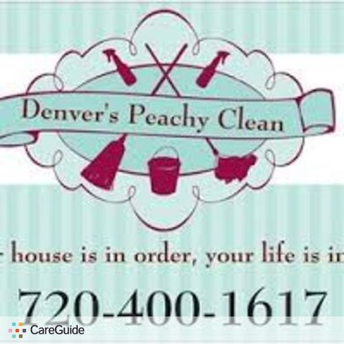 Housekeeper Provider Denver's Peachy Clean's Profile Picture