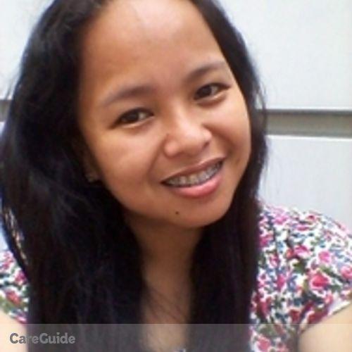 Canadian Nanny Provider Jasmin Pangilinan's Profile Picture