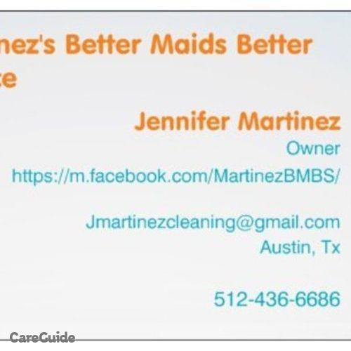 Housekeeper Provider Jennifer Martinez's Profile Picture