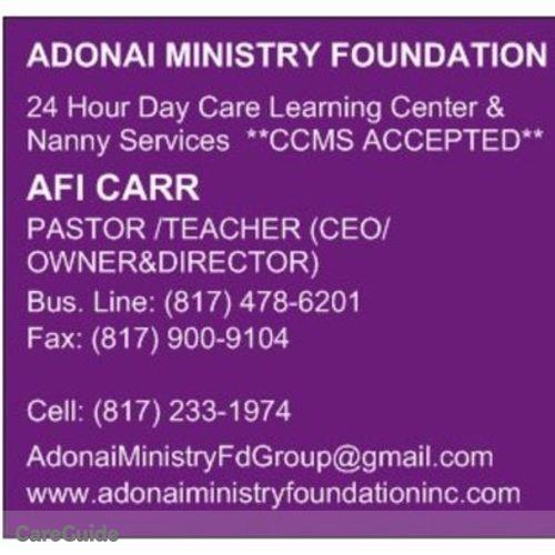 Child Care Provider Afi Carr's Profile Picture