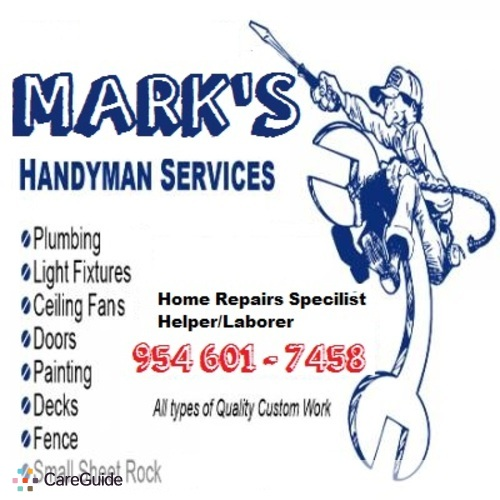 Handyman Provider M Blakely's Profile Picture