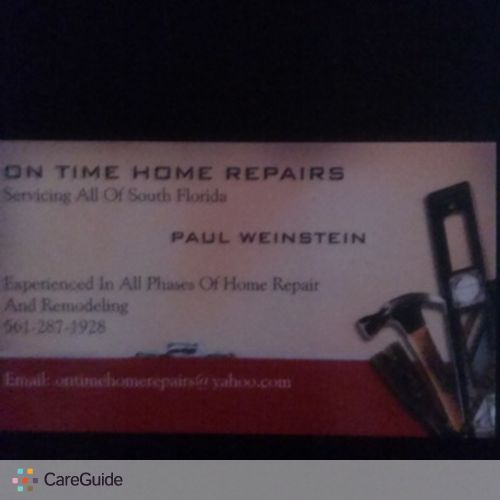 Handyman Provider Paul W's Profile Picture