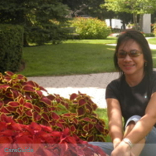 Canadian Nanny Provider Gina Delos Reyes's Profile Picture