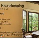 Housekeeper, House Sitter in Casselberry