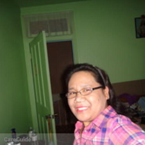Canadian Nanny Provider Sotera Dela cruz's Profile Picture
