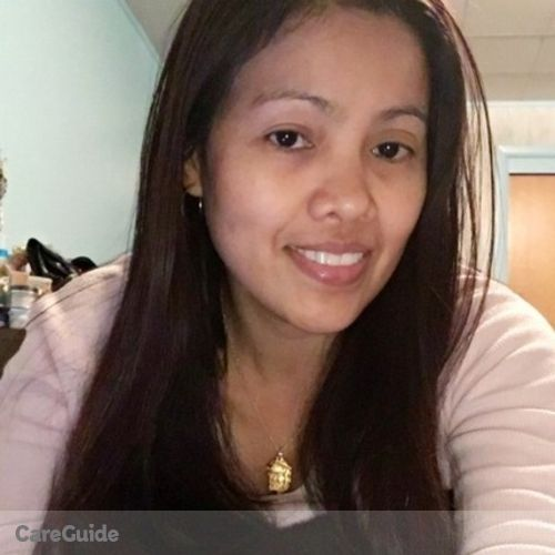 Canadian Nanny Provider Jenny Banquiao's Profile Picture