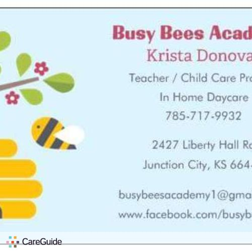 Child Care Provider Krista Donovan's Profile Picture