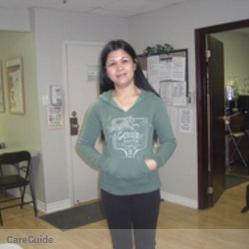 Canadian Nanny Provider Janet Serrano's Profile Picture
