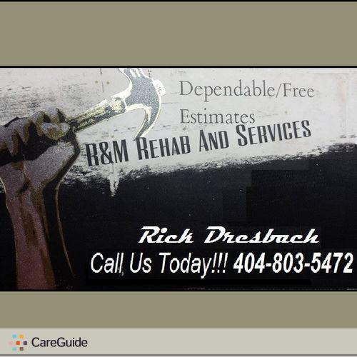 Handyman Provider Rick D's Profile Picture
