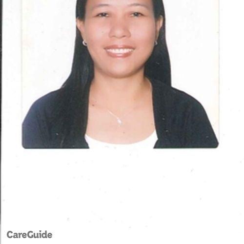 Canadian Nanny Provider Emelita Cerida's Profile Picture