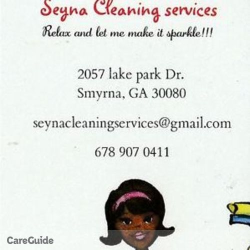 Housekeeper Provider Seynabou D's Profile Picture