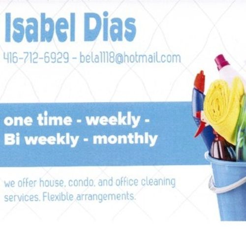 Housekeeper Provider Isabel D's Profile Picture