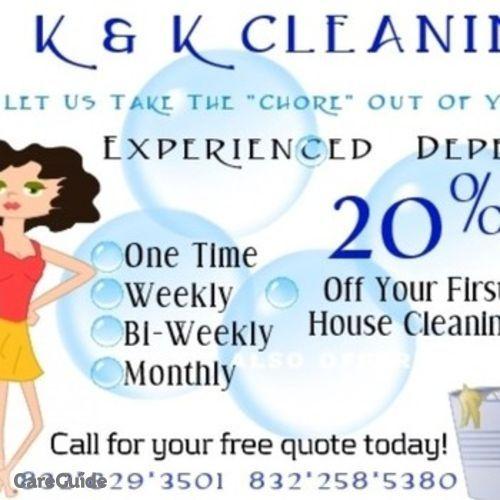 Housekeeper Provider Kiante C's Profile Picture