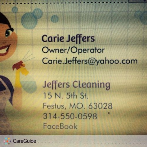 Housekeeper Provider Carie Jeffers's Profile Picture