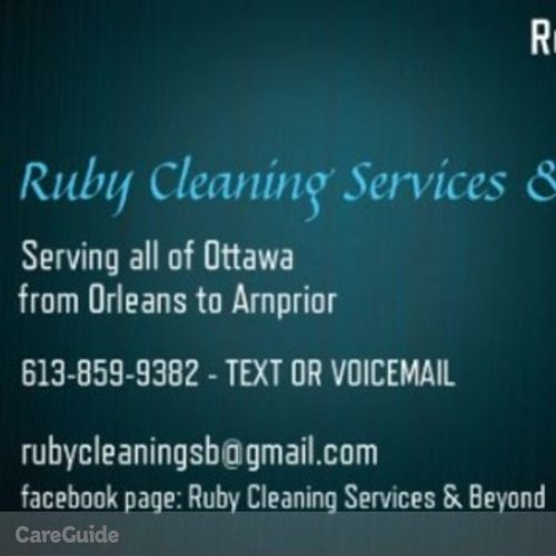 Housekeeper Provider Ruby Donaldson's Profile Picture