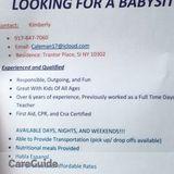 Babysitter in Staten Island