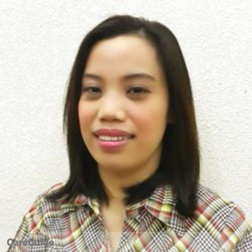 Canadian Nanny Provider Lela Botengan's Profile Picture