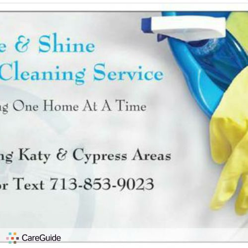Housekeeper Provider Sparkle And Shine Cleaning Service's Profile Picture