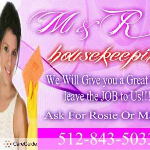 Housekeeper Provider Rosa Yharte's Profile Picture