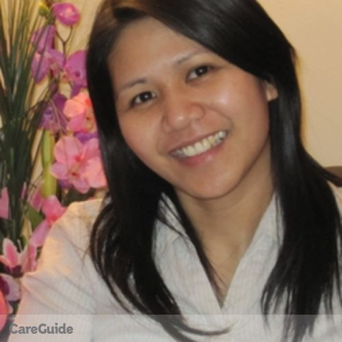 Canadian Nanny Provider Joann Paguyo's Profile Picture