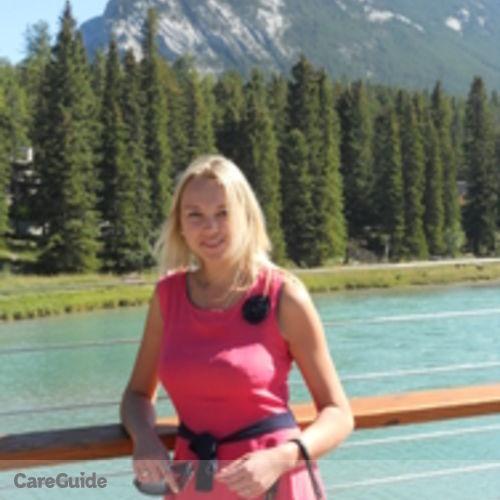 Canadian Nanny Provider Olga Shyrokova's Profile Picture